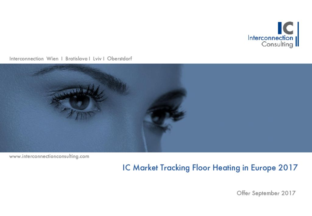 Heating systems ic market tracking floor heating in europe fandeluxe Choice Image